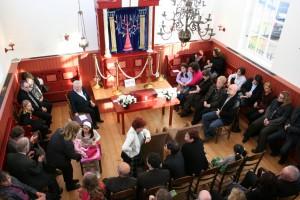 Bruiloft in de Dijksynagoge