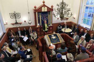 John Hasjoa herdenking, Dijksynagoge